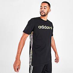 Men's adidas Originals Tie-Dye 3-Stripes T-Shirt