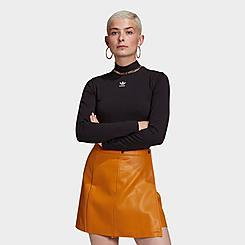 Women's adidas Originals Adicolor Essentials Long-Sleeve Mockneck Shirt