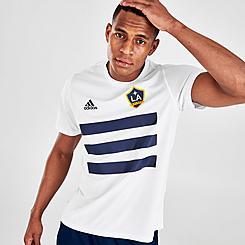 Men's adidas LA Galaxy Pitch T-Shirt