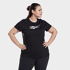 Women's Reebok Graphic Vector T-Shirt (Plus Size)