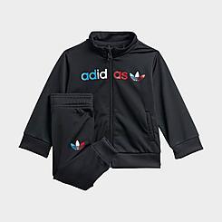 Infant adidas Originals Adicolor Primeblue Track Suit
