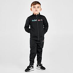 Boys' Toddler adidas Originals Tri-Color Track Suit