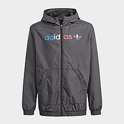 Kids' adidas Originals Adicolor Windbreaker Jacket