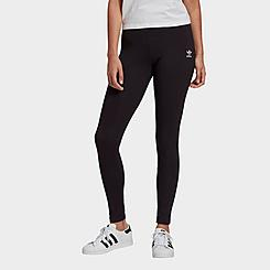 Women's adidas Originals Adicolor Trefoil Logo Leggings