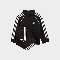 Kids' Infant and Toddler adidas Originals Adicolor SST Track Suit