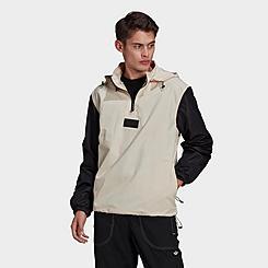 Men's adidas Originals R.Y.V. Silicone Badge Windbreaker Jacket