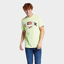 Men's Reebok Classics Multi-Color Logo Basketball T-Shirt