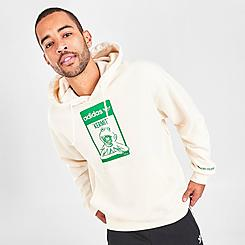 Men's adidas Originals Stan Smith Tongue Label Kermit the Frog Hoodie