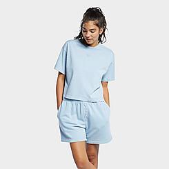 Women's Reebok Classics Natural Dye Cropped T-Shirt