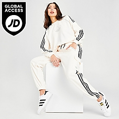 Women's adidas Originals Mixed Material Cargo Jogger Pants