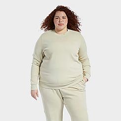 Women's Reebok Natural Dye Crewneck Sweatshirt (Plus Size)