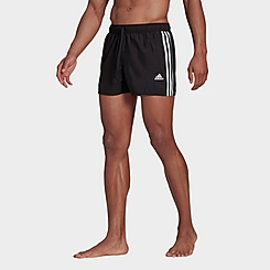 Men's adidas Classic 3-Stripes Swim Shorts