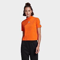 Women's adidas x NASA Sportswear Space Race Crop T-Shirt