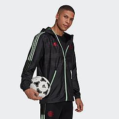 Men's adidas Manchester United Soccer Windbreaker Jacket