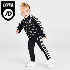 Girls' Toddler and Little Kids' adidas Originals Track Jacket and Pants Set