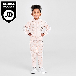 Girls' Toddler adidas Originals Gleam Trefoil Track Suit