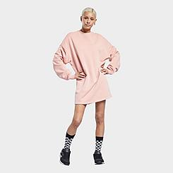 Women's Reebok Classics Natural Dye Crewneck Sweatshirt Dress (Plus Size)