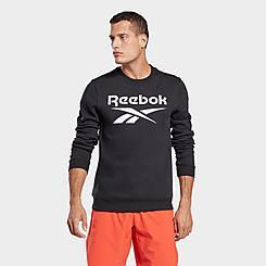 Men's Reebok Identity Big Logo Crewneck Sweatshirt