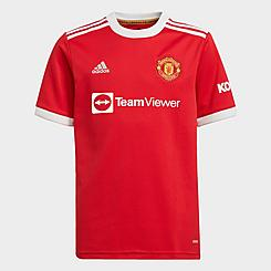 Kids' adidas Manchester United 20-21 Home Soccer Jersey