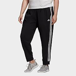 Women's adidas Essentials Slim Tapered Cuffed Jogger Pants (Plus Size)