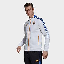 Men's adidas Real Madrid Tiro Anthem Soccer Jacket