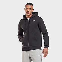 Men's Reebok Identity Fleece Full-Zip Hoodie