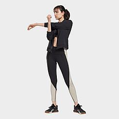 Women's Reebok Lux High-Rise Colorblock Leggings