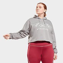Women's Reebok Workout Ready Training Hoodie (Plus Size)