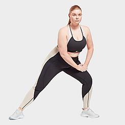 Women's Reebok Lux High-Rise Colorblock Leggings (Plus SIze)