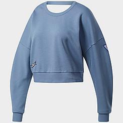 Women's Reebok MYT Crew Training Sweatshirt