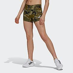 Women's adidas Camo Short Tights Volleyball Shorts