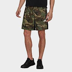 Men's adidas AEROREADY Designed To Move Sport Camo-Print Training Shorts