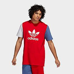 Men's adidas Originals Blocked Trefoil T-Shirt