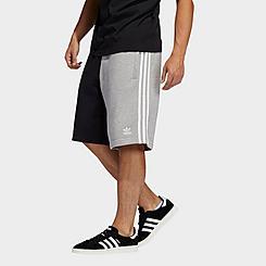 Men's adidas Originals Blocked 3-Stripes Sweat Shorts