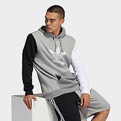 Men's adidas Originals Blocked Trefoil Hoodie