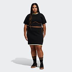 Women's adidas x IVY PARK Knit Skirt (1X - 4X)