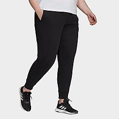 Women's adidas Essentials French Terry Logo Pants (Plus Size)