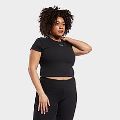 Women's Reebok Classics Ribbed T-Shirt (Plus Size)
