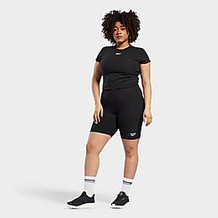 Women's Reebok Classics Bike Shorts (Plus Size)