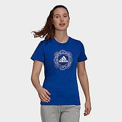 Women's adidas Foil Mandala Graphic T-Shirt