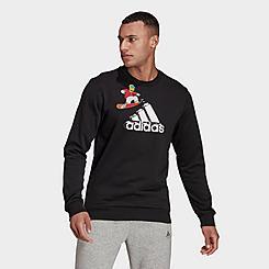 Men's adidas x The Simpsons Snowboard Graphic Sweatshirt
