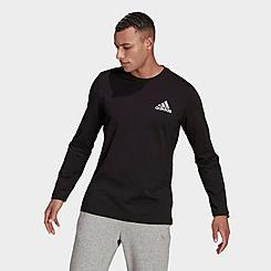 Men's adidas Spray Graphic Long-Sleeve T-Shirt