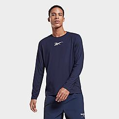 Men's Reebok Activchill+DreamBlend Long-Sleeve T-Shirt