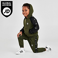 Boys' Toddler and Little Kids' adidas Originals Tape Track Suit