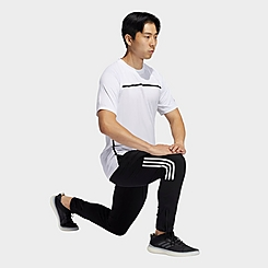 Men's adidas Player 3-Stripes Windbreaker Jogger Pants