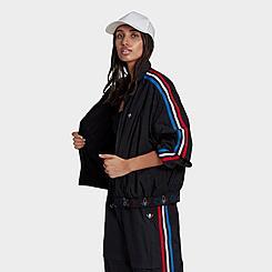 Women's adidas Originals Adicolor Tricolor Japona Track Top