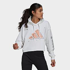 Women's adidas Sportswear Graphic Logo Pullover Hoodie