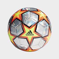 UCL Training Hologram Foil Pyrostorm Soccer Ball