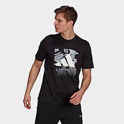 Men's adidas Camo Badge of Sport Graphic T-Shirt