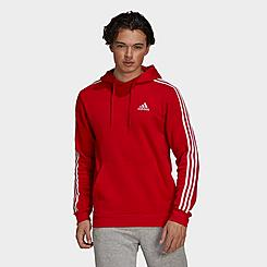 Men's adidas Essentials Fleece 3-Stripes Hoodie